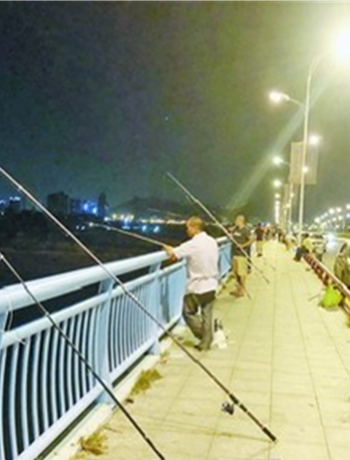網友舉報同安橋上違規釣魚亂象...