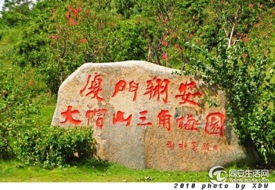 """被称为""""厦门后花园""""的天竺山旅游风景区位于厦门市海沧区"""