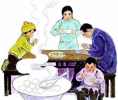 小编手记:冬至也是阖家团圆的日子,今晚,记得回家和家人吃顿暖暖的