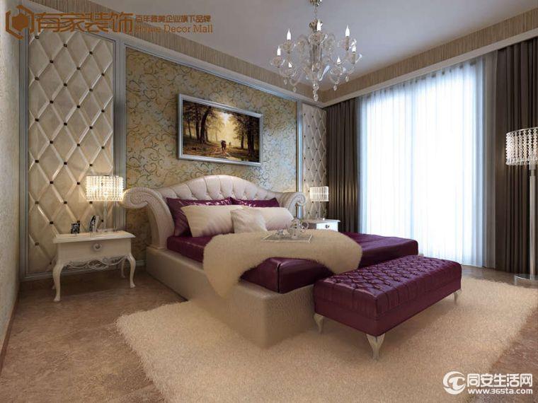 福隆国际小区350平欧式风格别墅装修效果图