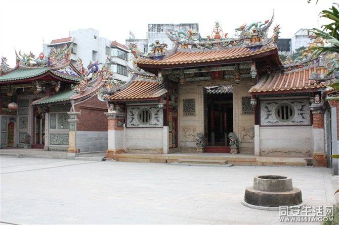 翔安区马巷老街的城隍庙